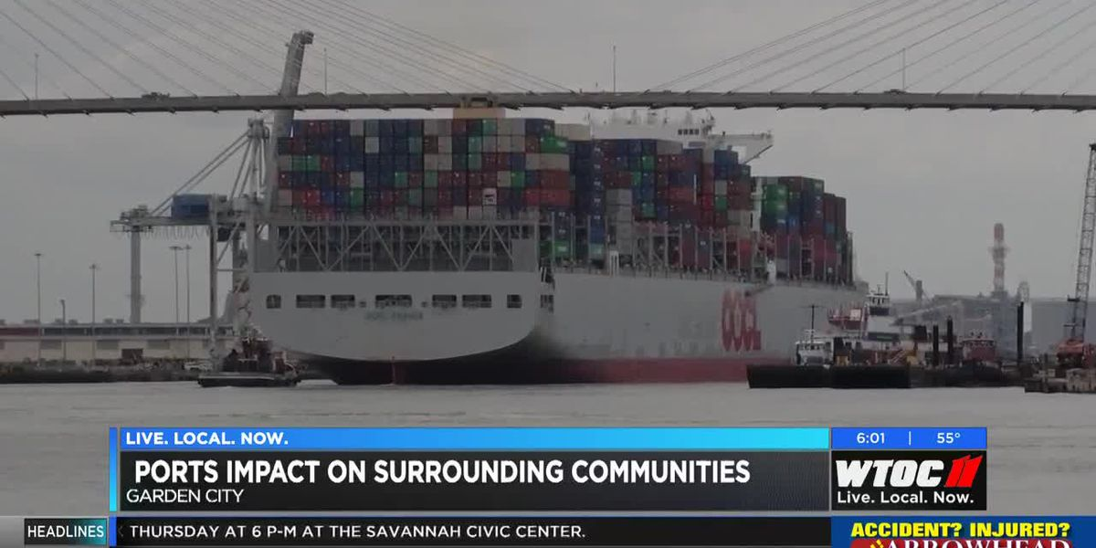Georgia Ports Authority has huge impact on surrounding communities