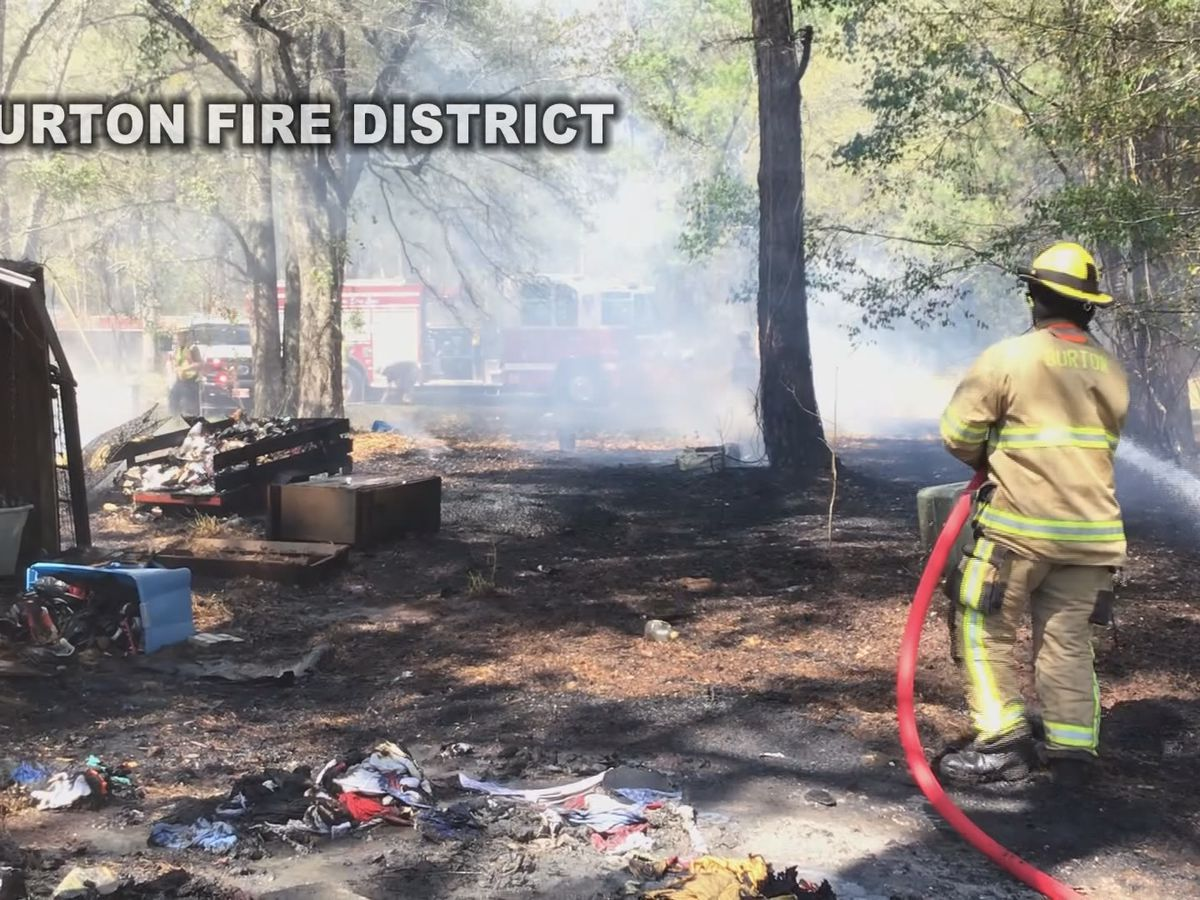 Yard work leads to surge in Lowcountry fires