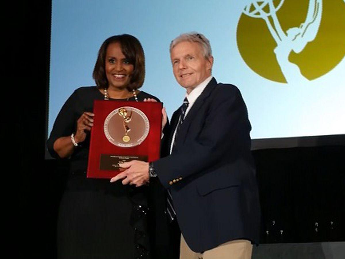 WTOC's Craig Harney receives Silver Circle award