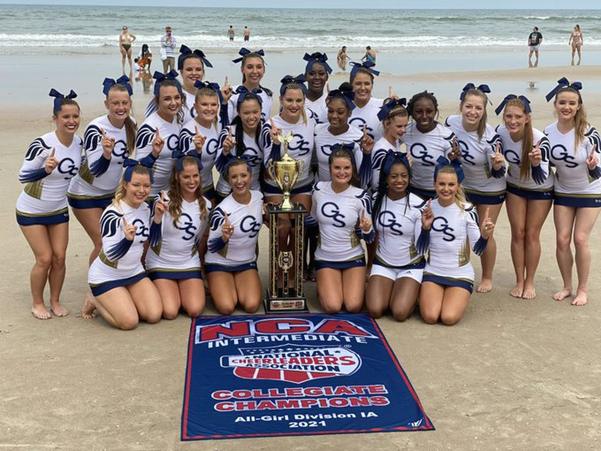 Georgia Southern cheerleaders capture 7th national title