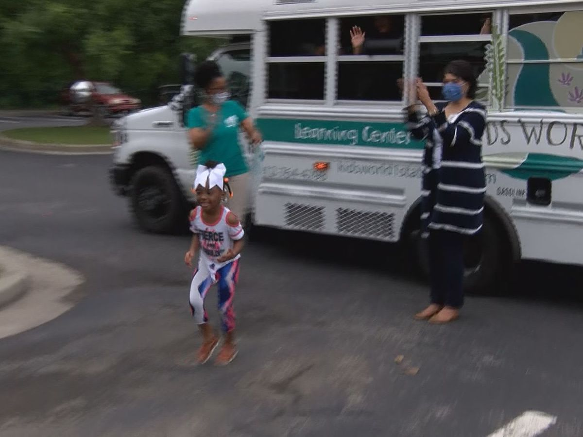 'Graduation' brought to driveways for young students