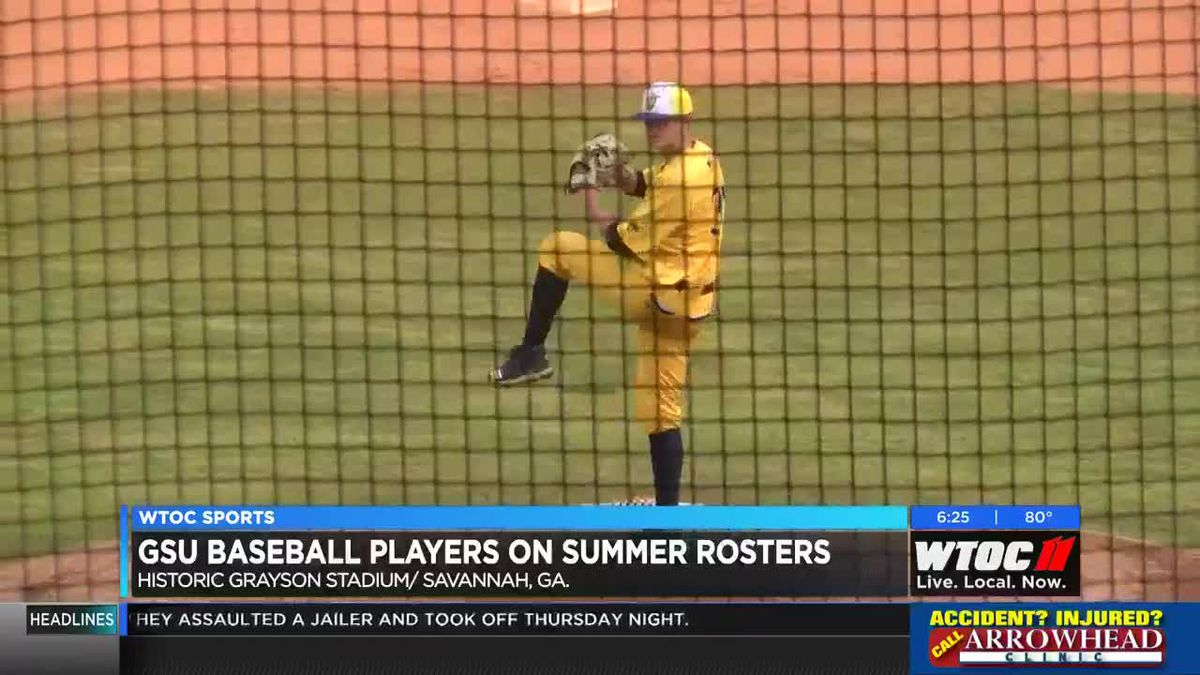 GSU baseball players on summer rosters