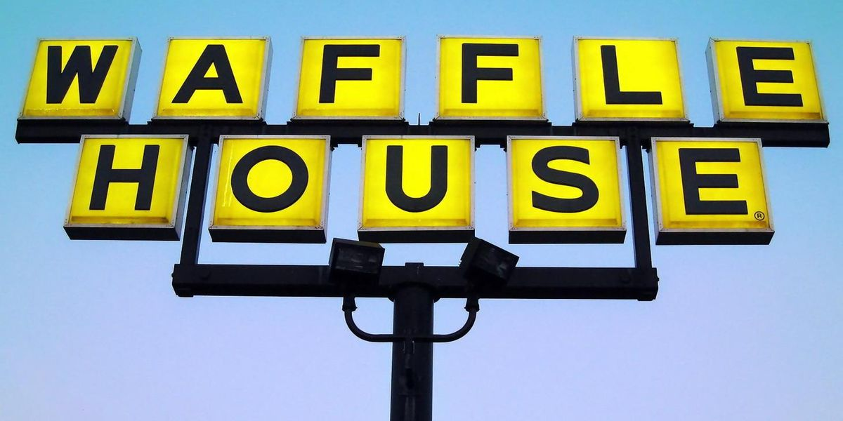 More than 1,500 Waffle House restaurants still open (for take-out) according to 'Index'