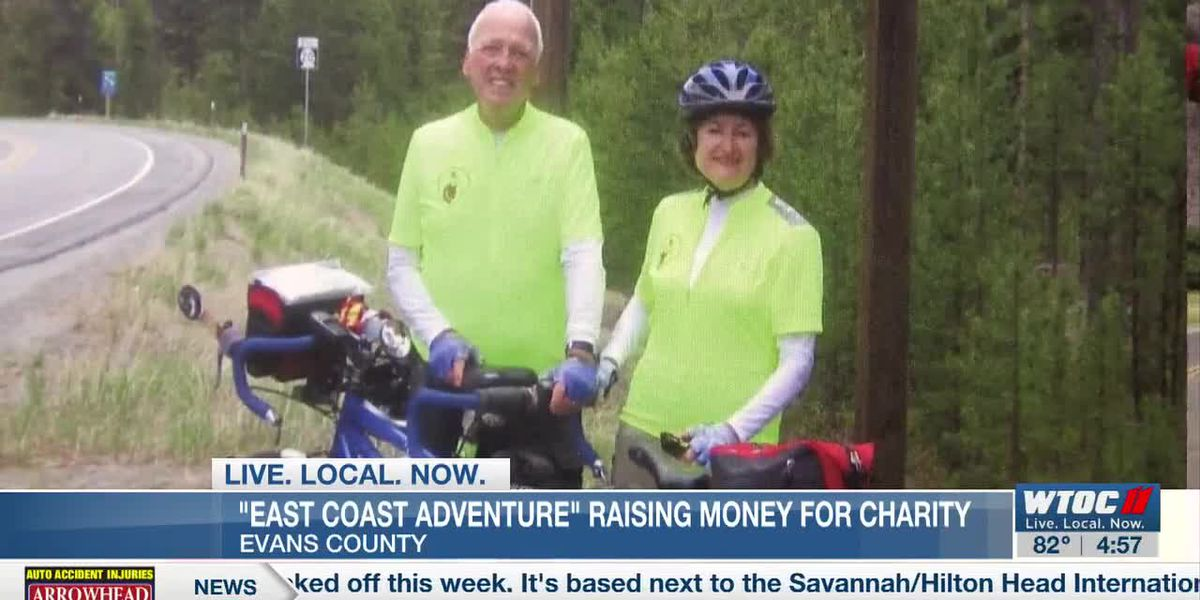 Evans County man begins bike ride for a good cause