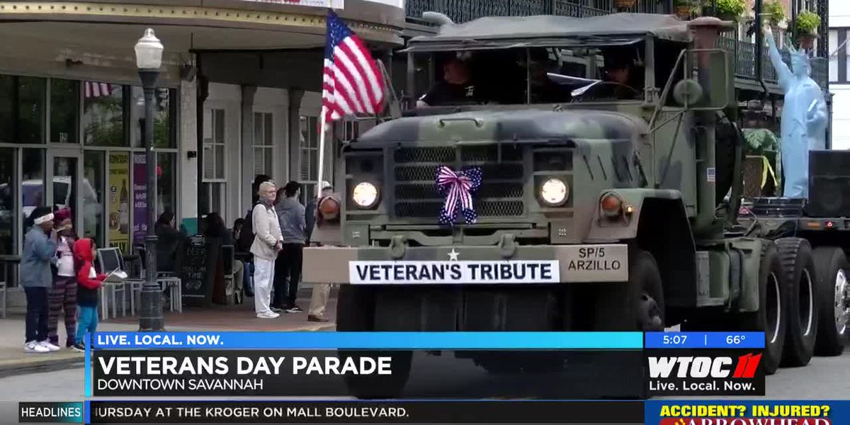 City of Savannah honors those who served with annual Veterans Day Parade