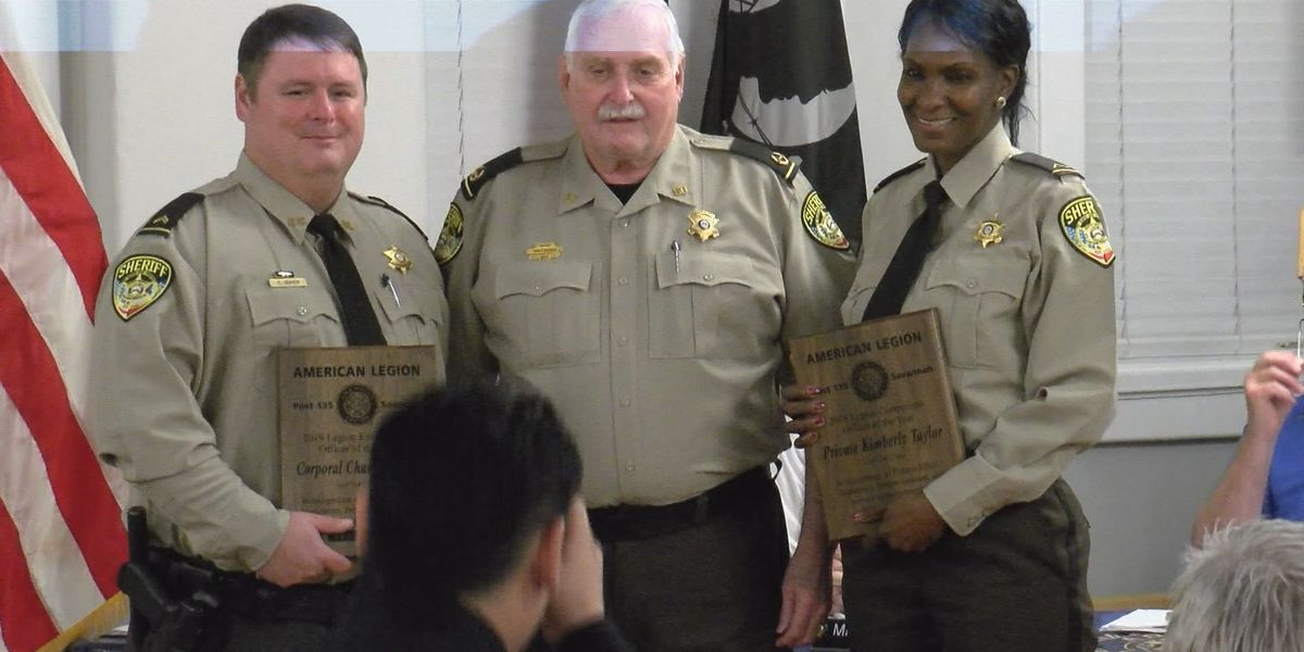 Officers of the year awards handed out to CCSO