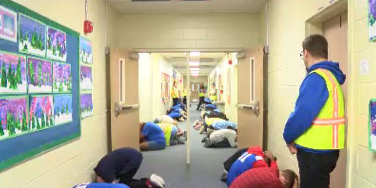 Chatham County students participate in statewide tornado drill