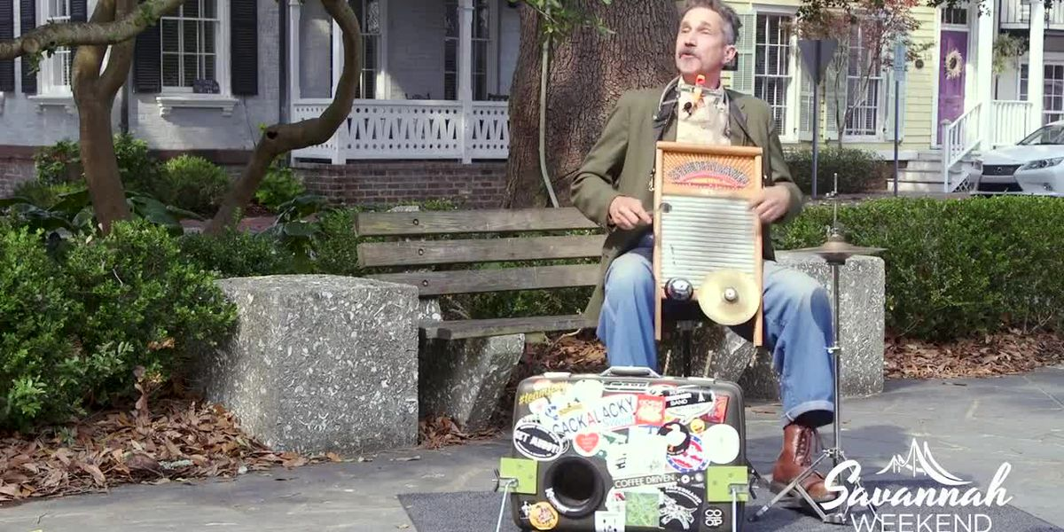 Breadfoot performs 'Seven Dollar Suit' in Washington Square