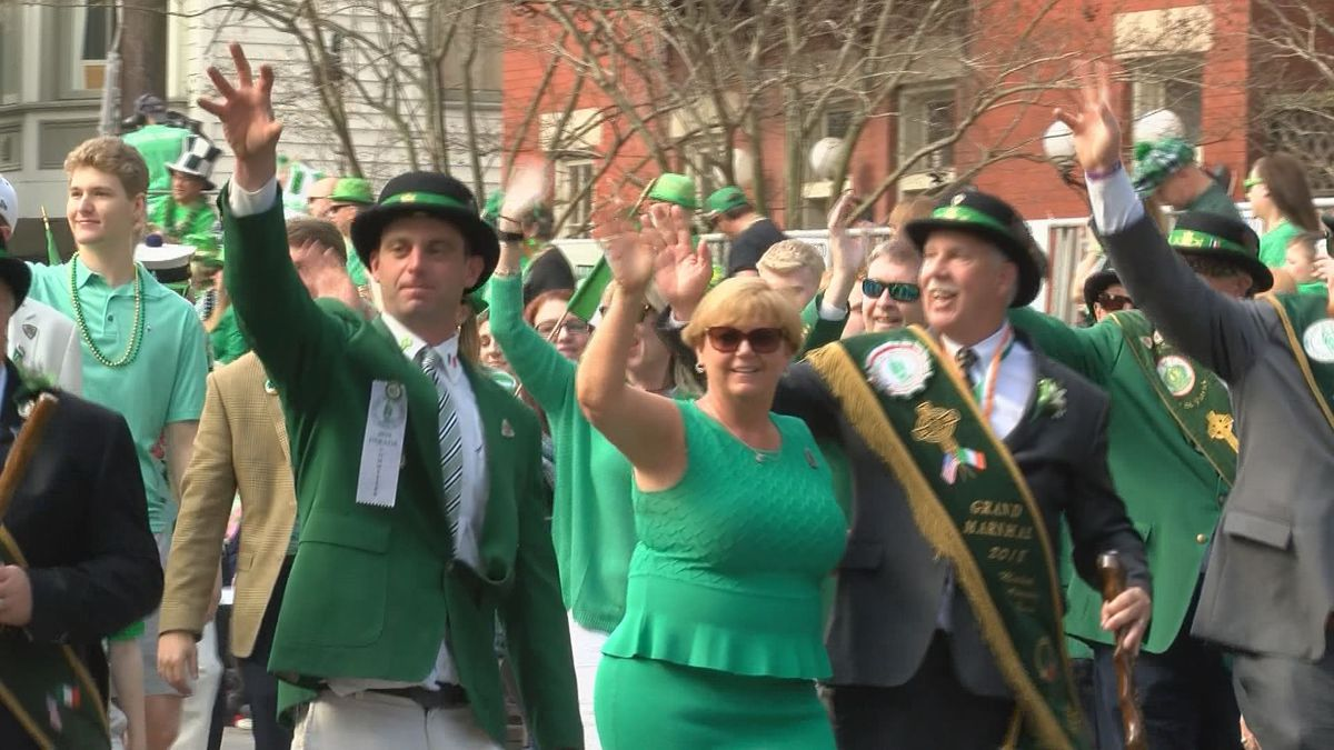 2019 Savannah St. Patrick's Day Parade route