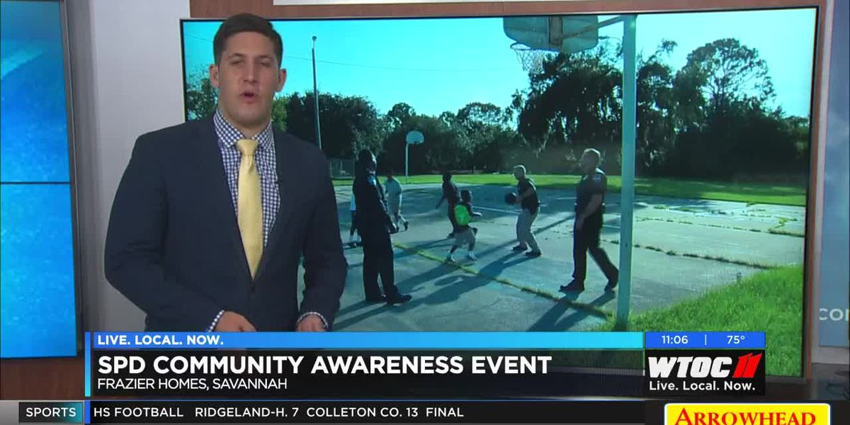 Savannah Police Department holds community awareness event