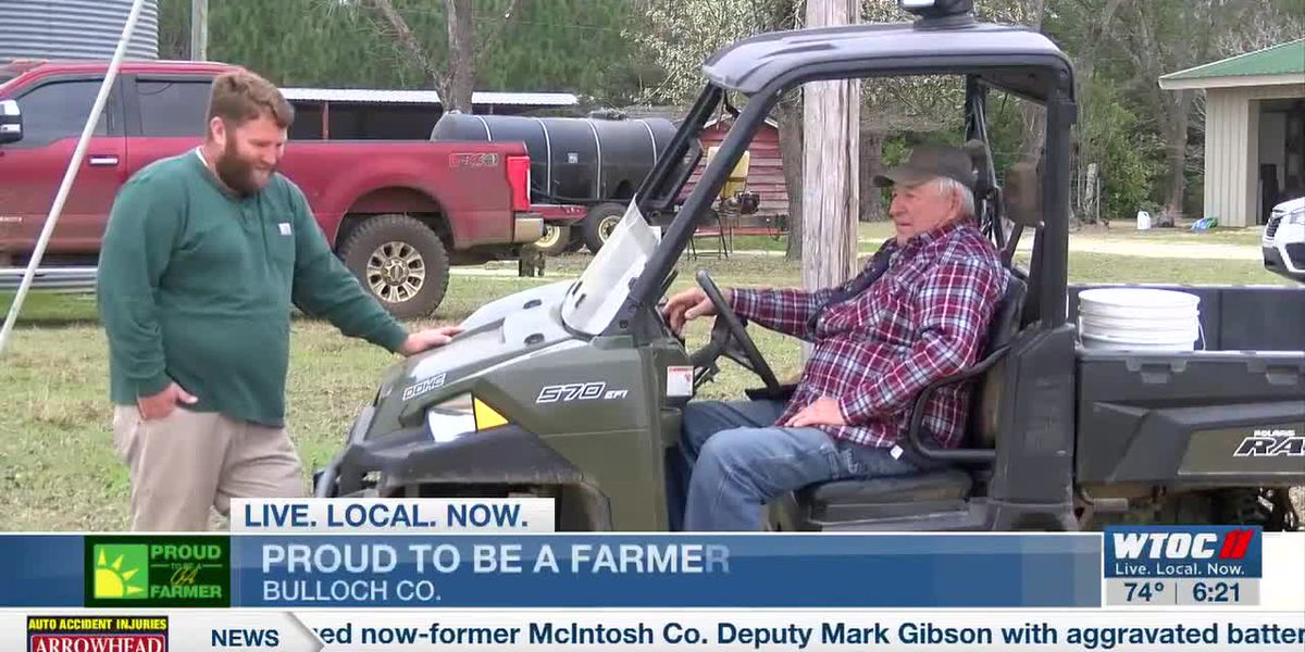 Bulloch Co. man continues family's farming heritage