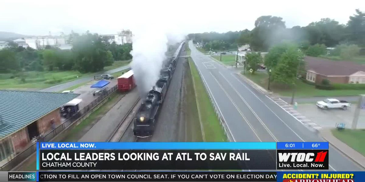 Local leaders looking at ATL to SAV rail