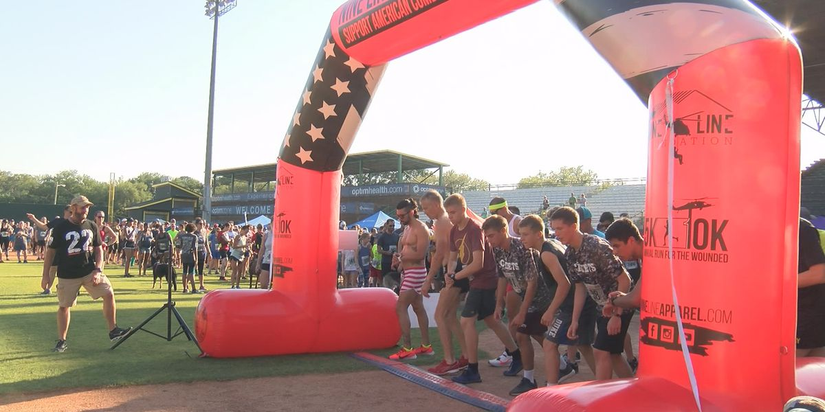 Nine Line Apparel host 6th annual run for the wounded