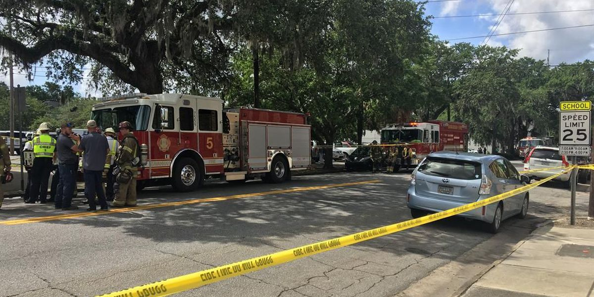 Savannah Fire gives all-clear after chemical spill at 1400 Bull Street