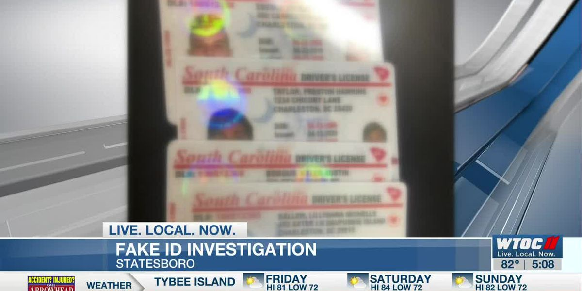 Statesboro Police cracking down on fake ID's after bust