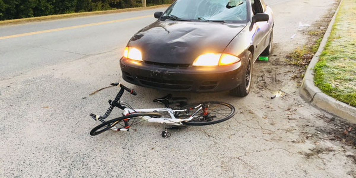 Bicyclist injured after being struck by vehicle on Louisville Rd in West Savannah