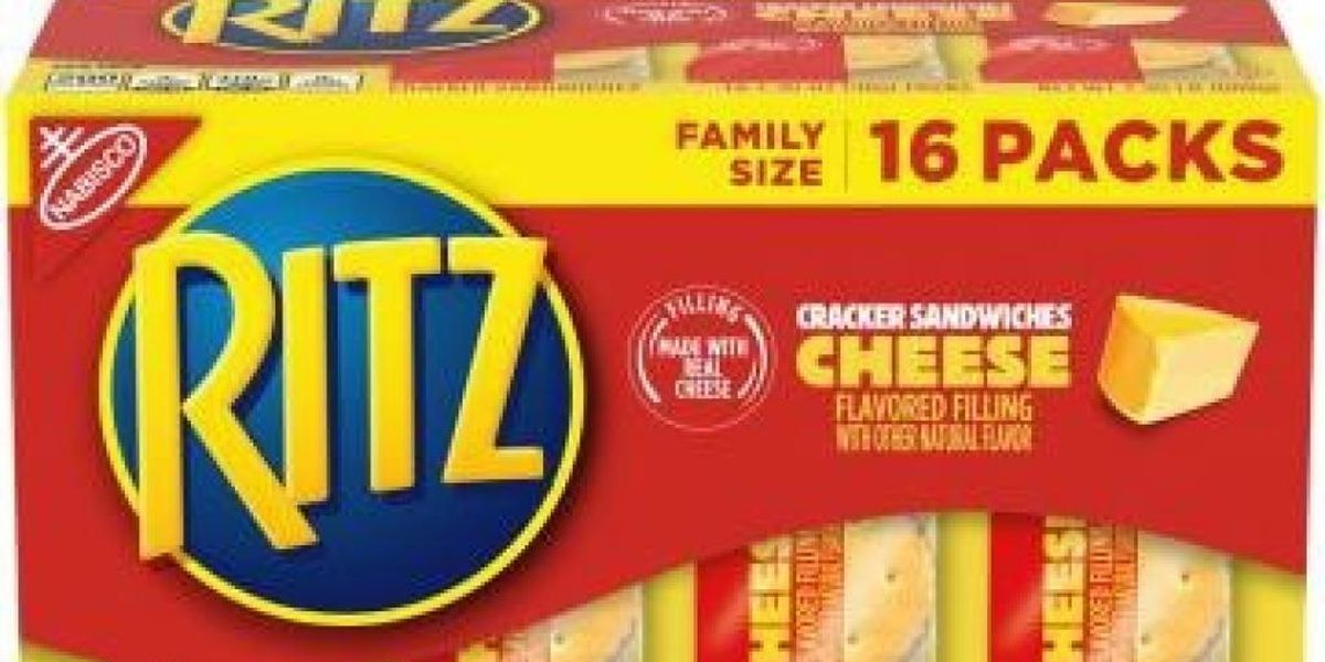 Ritz recalls mislabeled cracker sandwiches