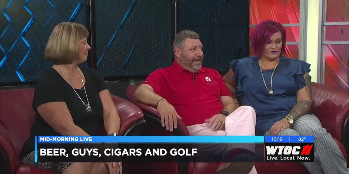 Beers, Guys, Cigars and Golf