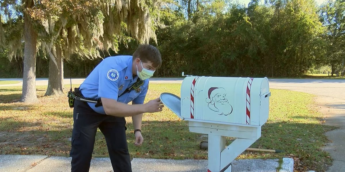 Burton Fire District helping your letters get to Santa Claus