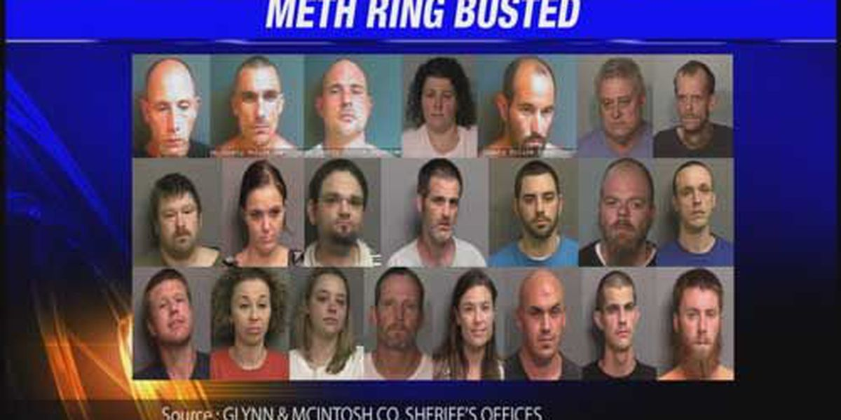 14 Month Meth Ring Investigation Warrants Numerous Arrests
