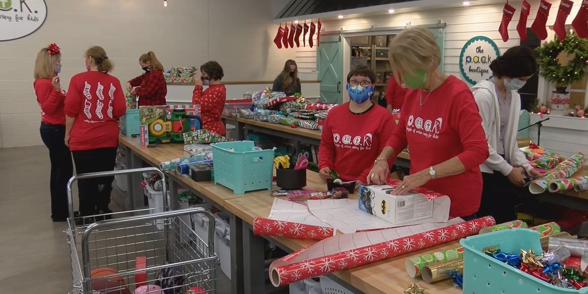 P.A.C.K. the Stocking event to deliver presents to 800 kids in Savannah area