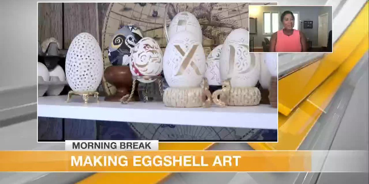 How to Create Art From Eggs
