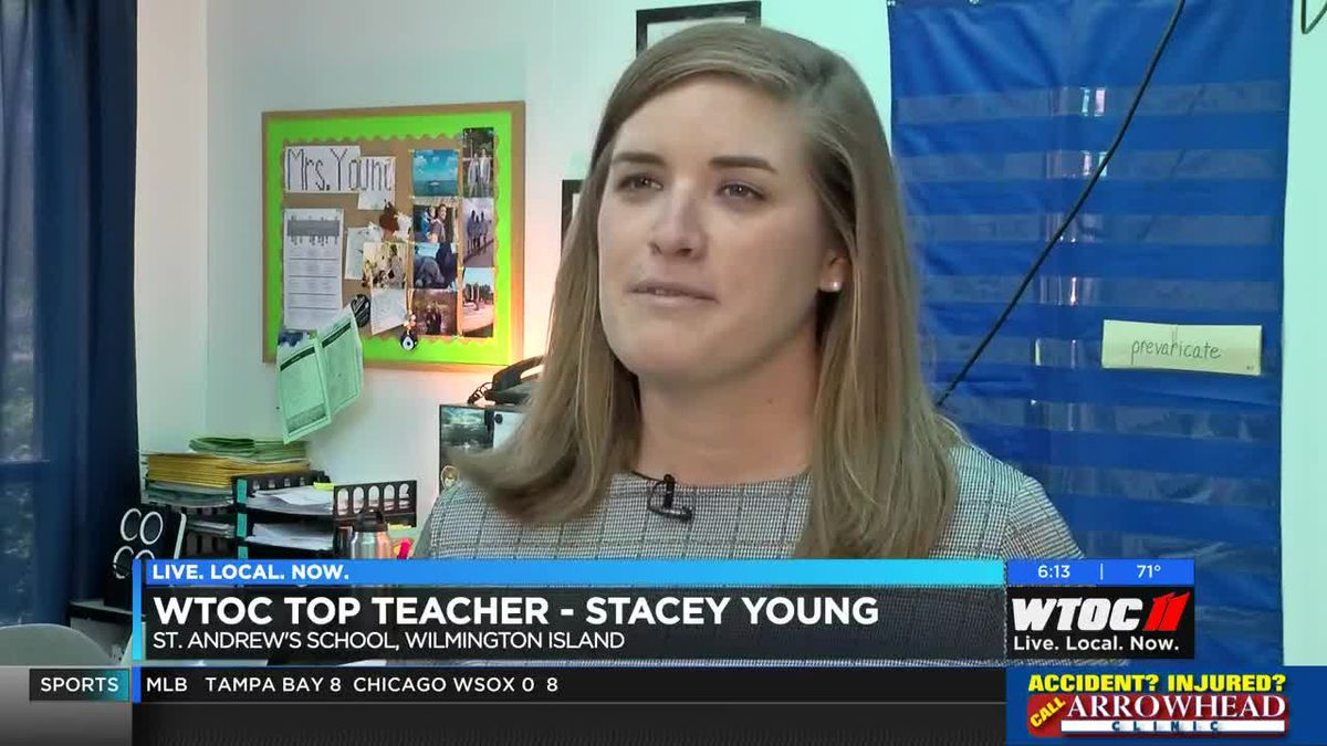 WTOC Top Teacher: Stacey Young, St  Andrew's School