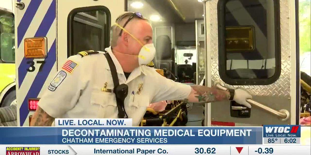 Machine helps decontaminate Chatham EMS ambulances