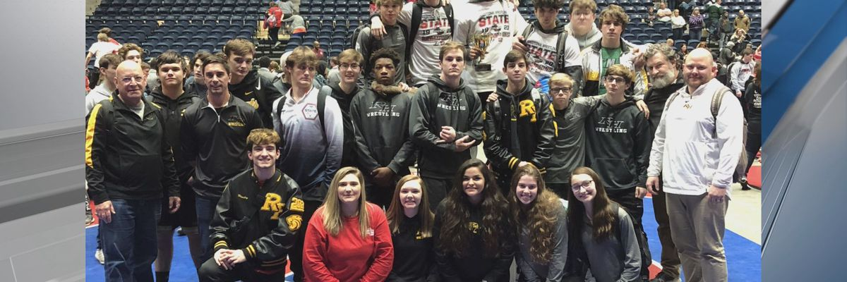 Local wrestlers shine at state tournament