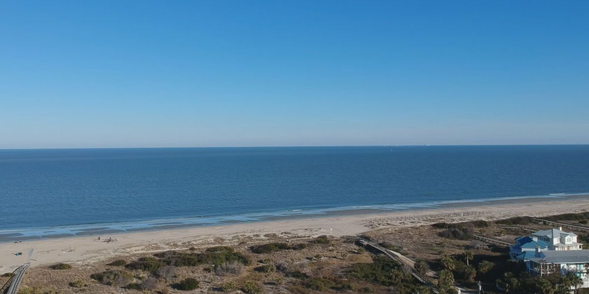 Beach water advisory issued again for part of Tybee Island
