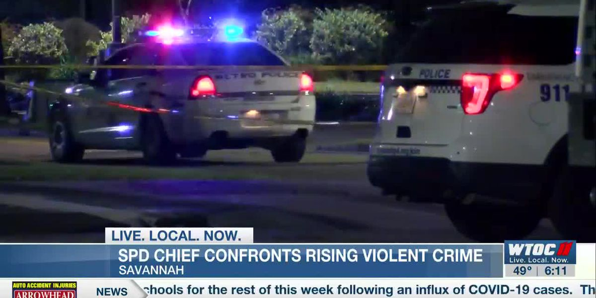 Savannah police chief talks crime solutions, initiatives to curb violence already underway