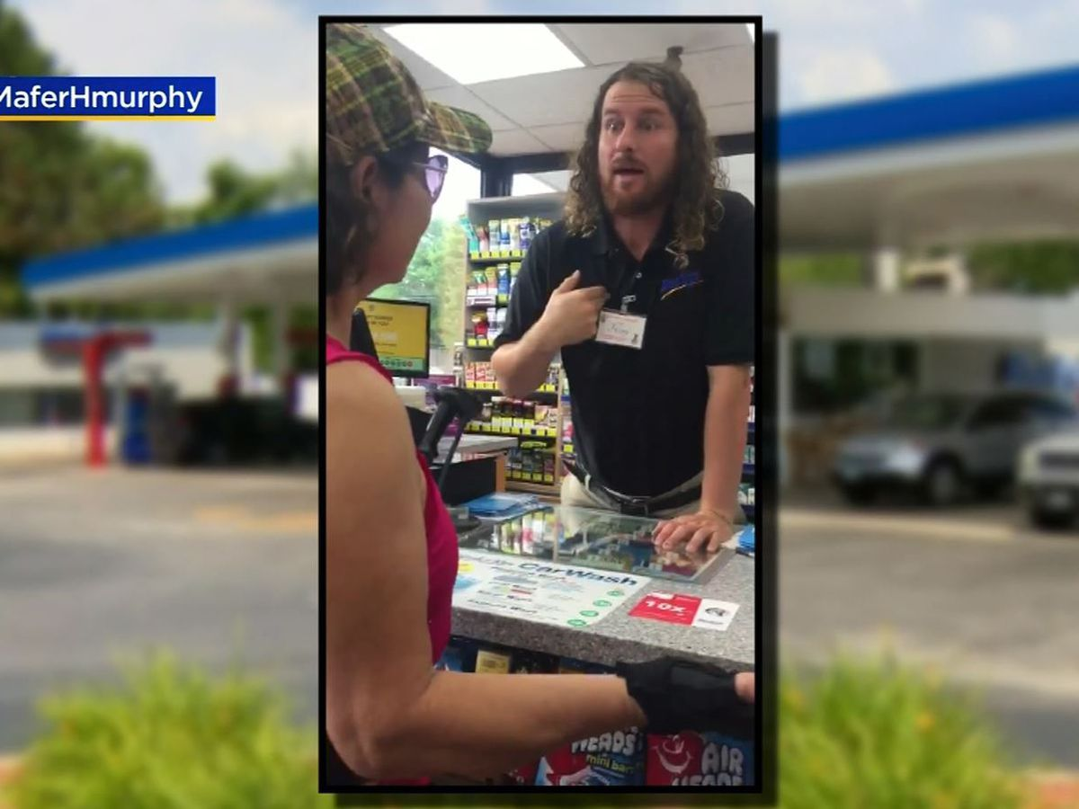 'They need to go back to their country': Store clerk caught on video confronting family