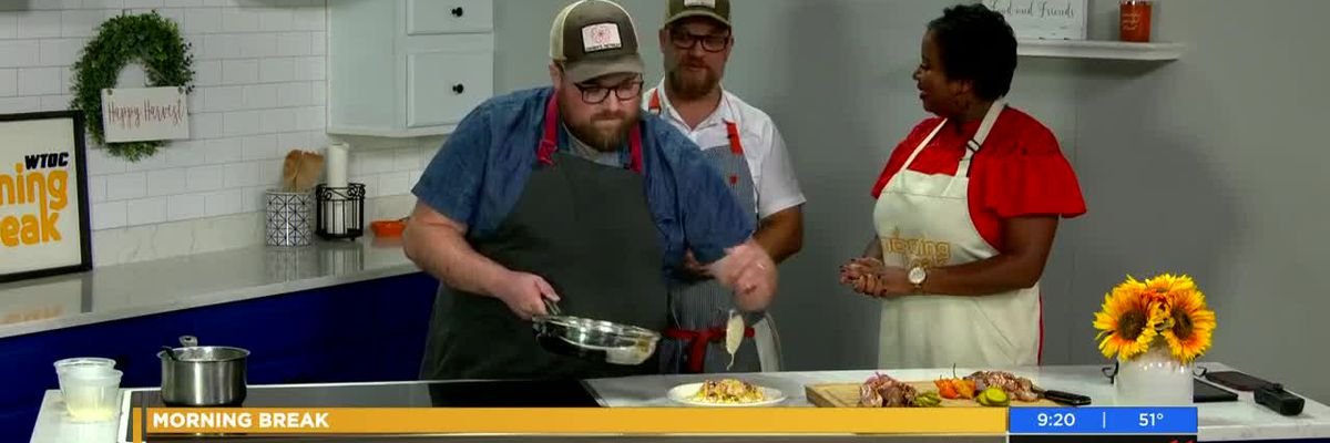 Cooking with Cohen's Retreat: Shrimp & Grits