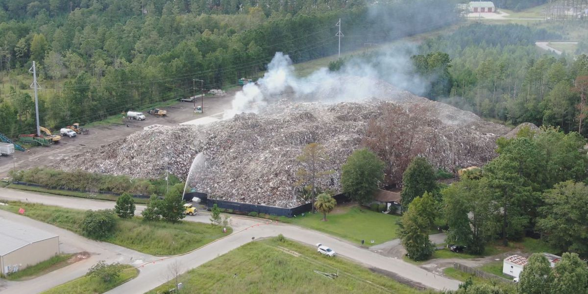 State law fell short of enforcement on debris pile until it was too late