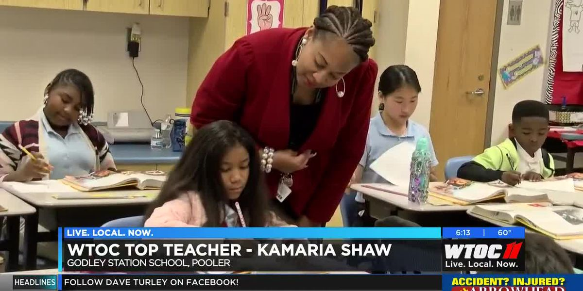 WTOC Top Teacher: Kamaria Shaw