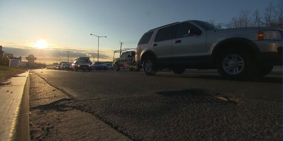 Travelers hitting the road in time for Thanksgiving