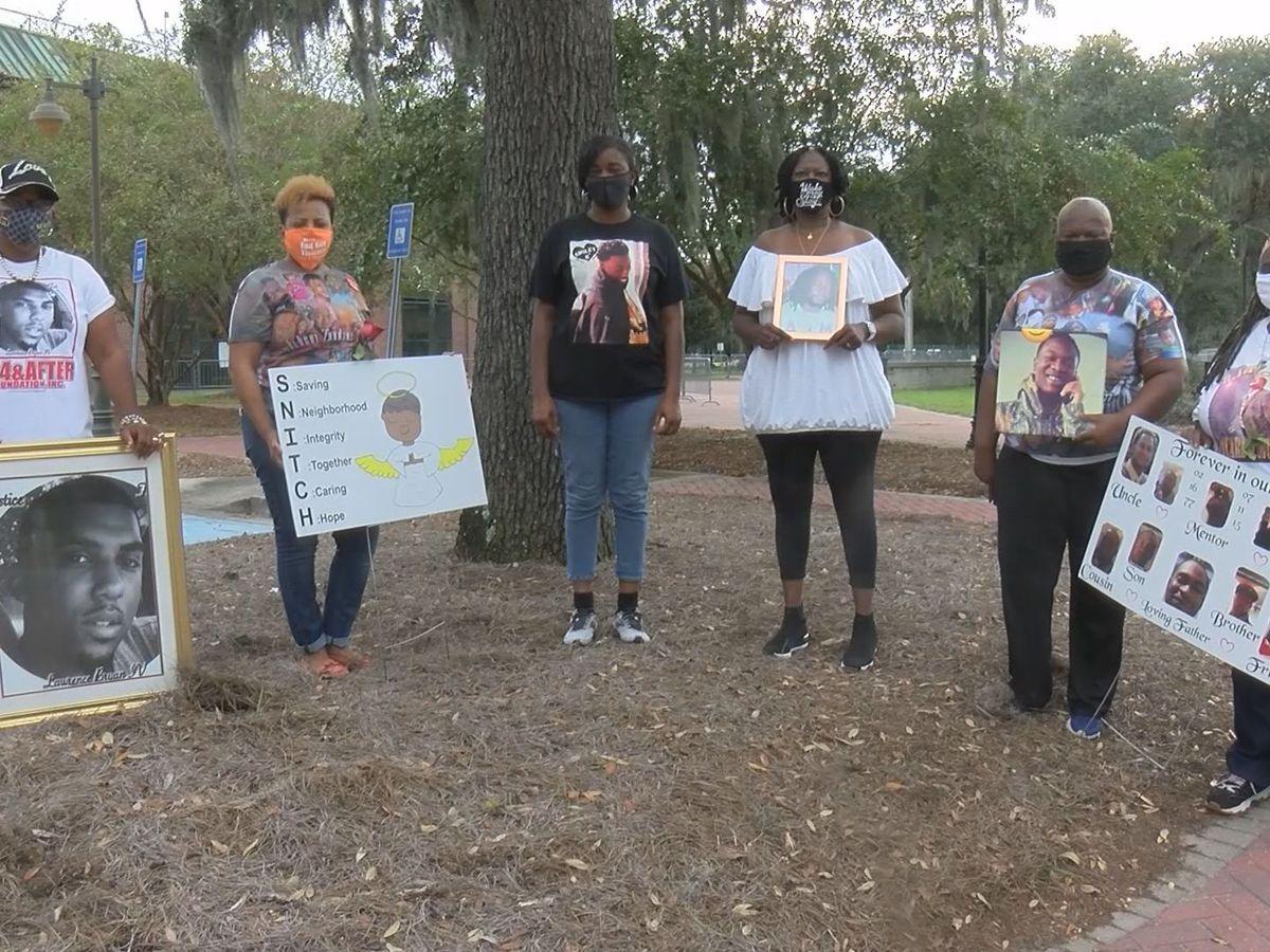 Savannah mothers speaking out against gun violence