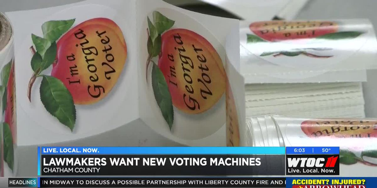 State lawmakers looking at prices for new voting machines in Georgia