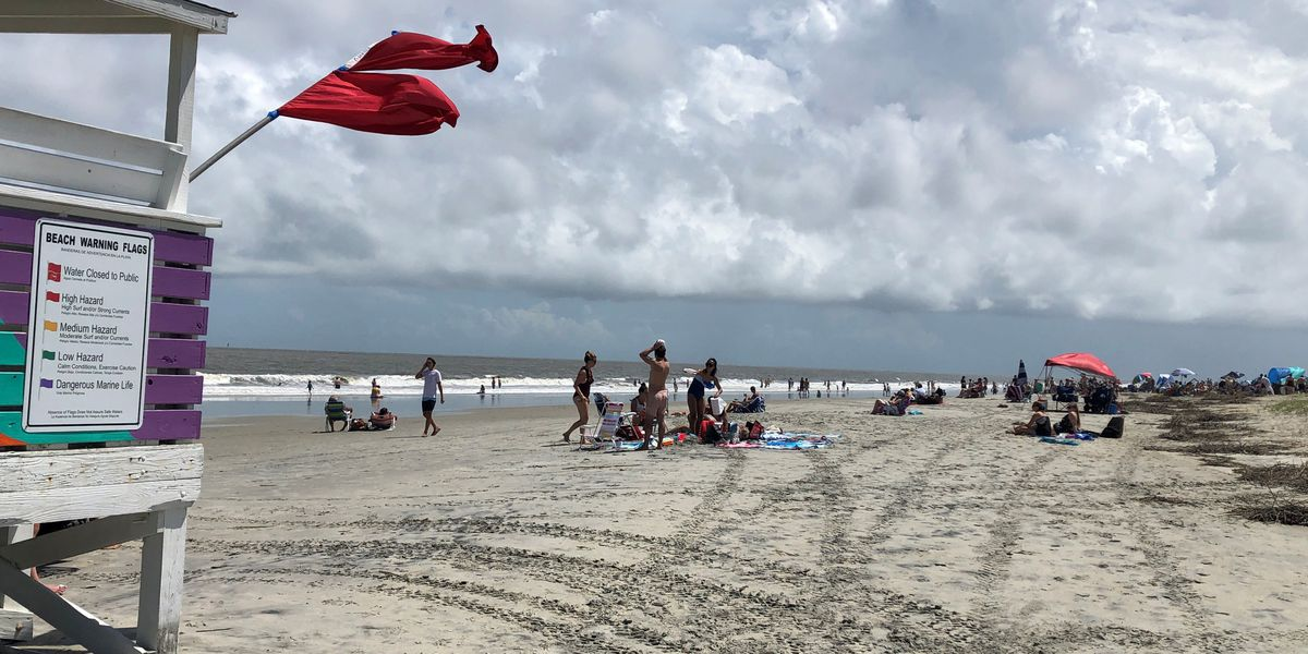 Water will be closed to swimmers Monday on Tybee Island beaches
