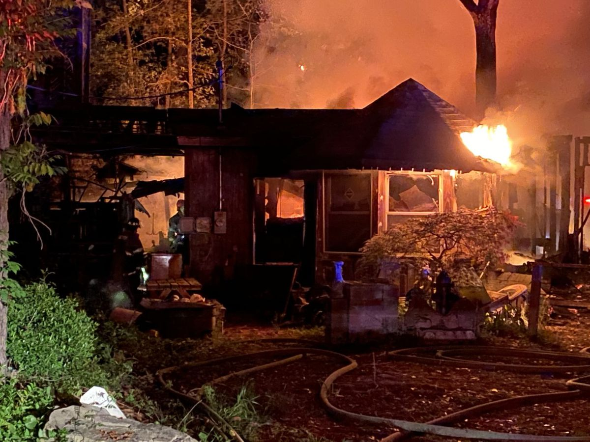 Midway man displaced by fire