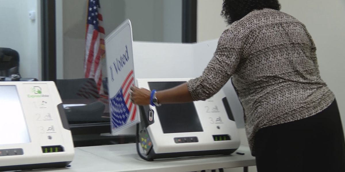 Beaufort County testing new voting machines