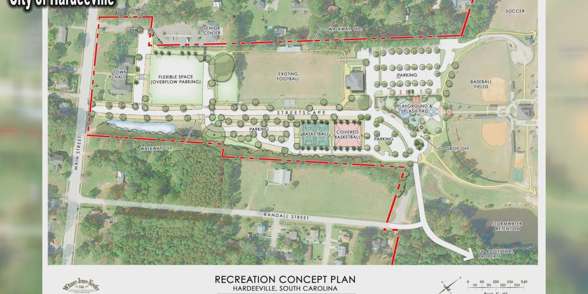 Hardeeville leaders enhancing recreational space ahead of expected population growth