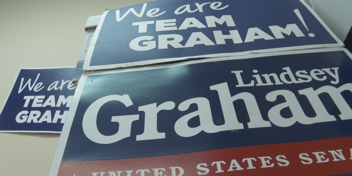 Graham campaign shifts focus to November showdown with Harrison after GOP Primary win