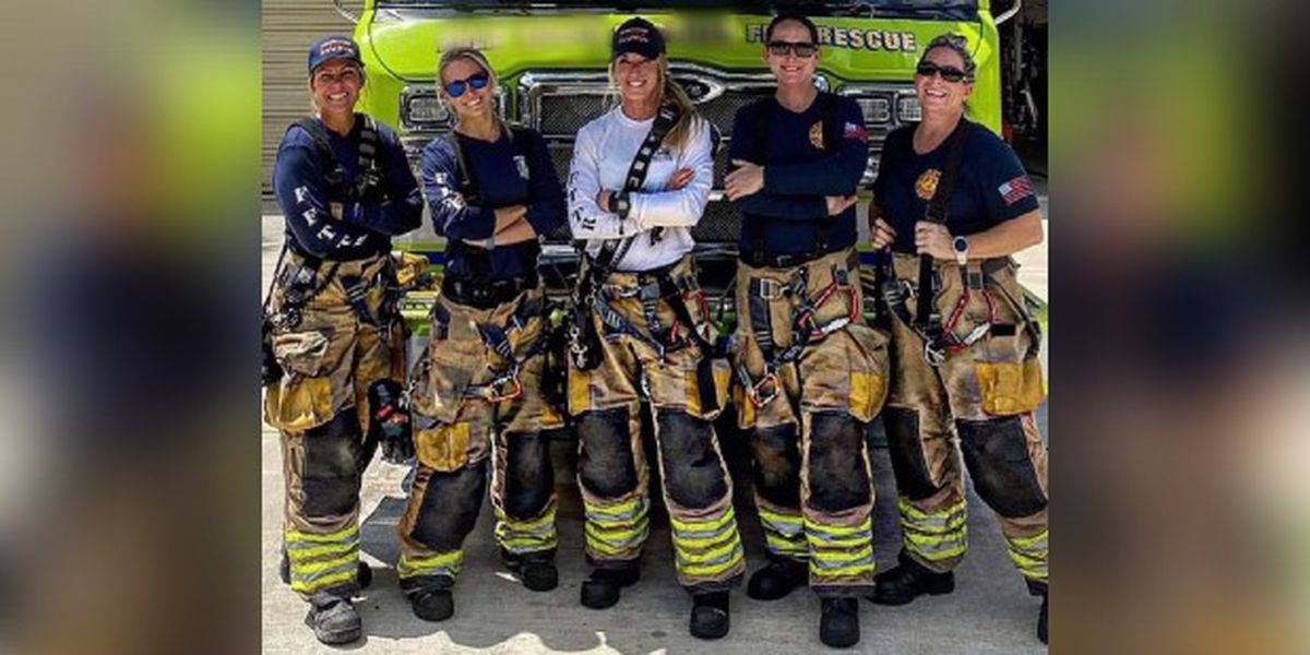 All-female crew makes history at Florida fire department