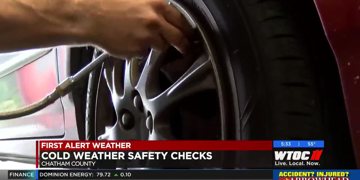 Car safety tips during cold weather