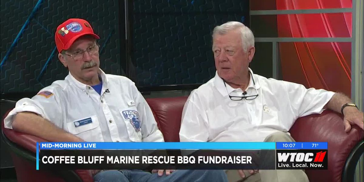 The Coffee Bluff Marine Rescue Squadron celebrates 60 years with their annual barbeque fundraiser