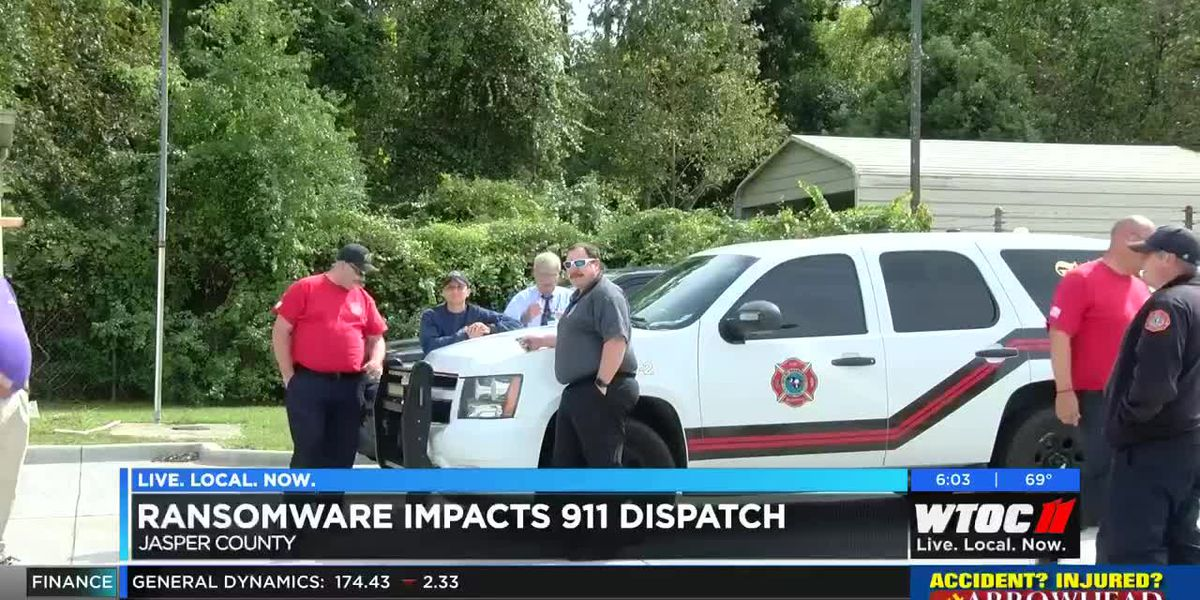 Ransomware attack may be affecting 911, emergency dispatch in Jasper Co.