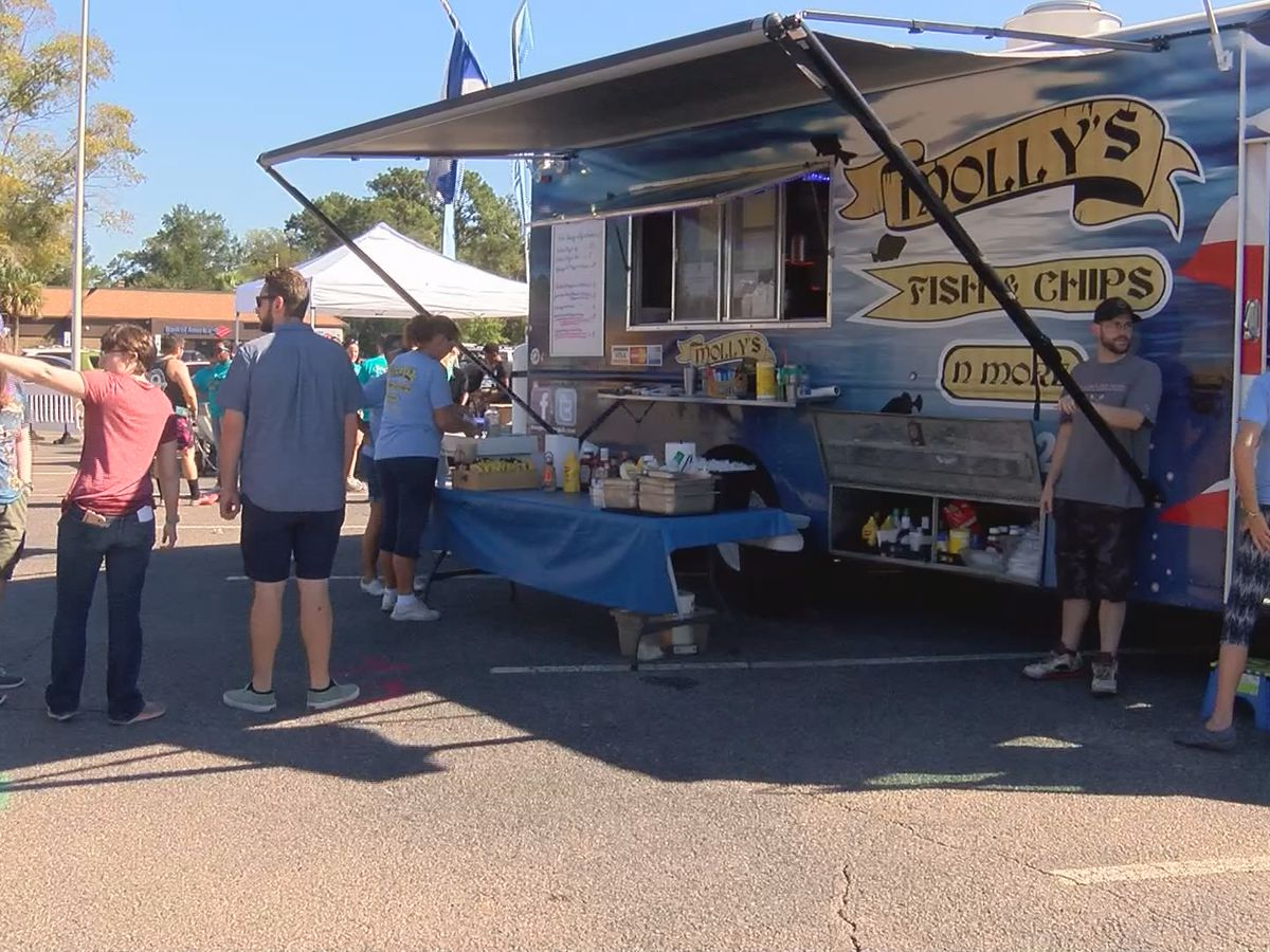 Proceeds from Beaufort Food Truck Festival benefit Camp Hope