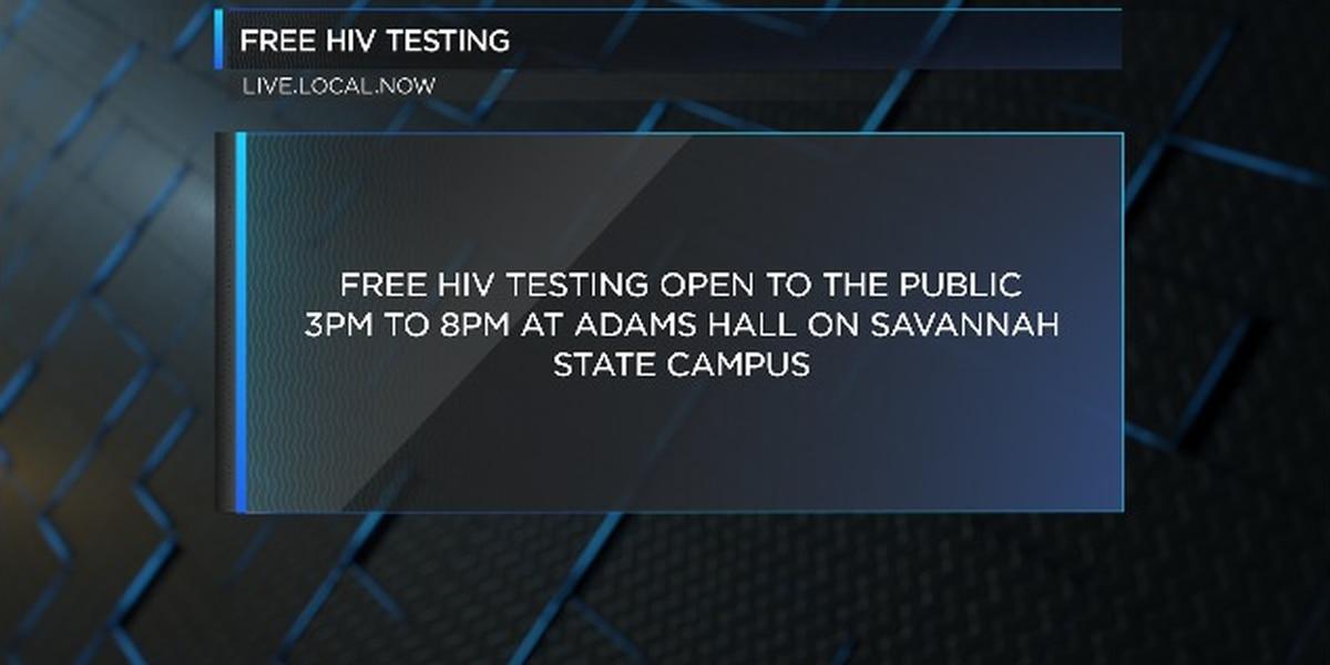 SSU offering free, confidential HIV testing in Savannah