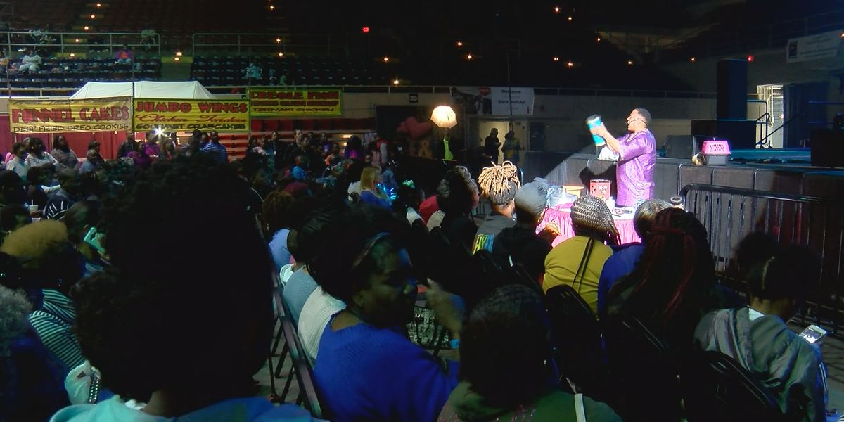 Grand festival held at Civic Center in honor of Black History Month
